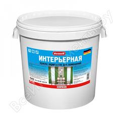 Интерьерная краска пуфас белая decoself мороз. 40кг ки тов-114992