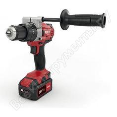 Двухскоростная аккумуляторная ударная дрель-шуруповерт flex pd 2g 18.0 s52 promo 18.0 в 490202