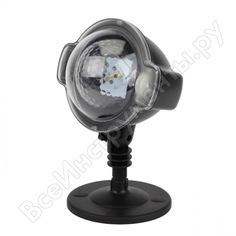 Led-проектор эра eniop03 падающий снег, мультирежим, холодный свет, 220v б0041644