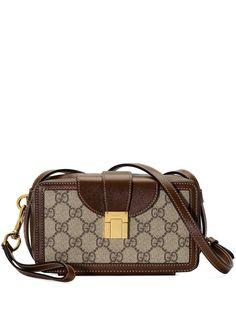 Gucci мини-сумка с портфельной застежкой