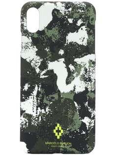 Marcelo Burlon County of Milan чехол для iPhone XS с камуфляжным принтом