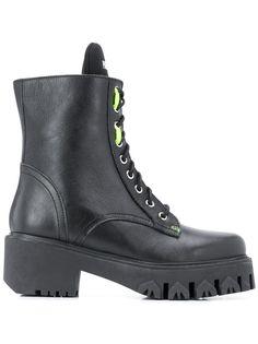 Patrizia Pepe байкерские ботинки на шнуровке