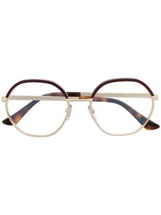Marni Eyewear очки в круглой оправе черепаховой расцветки