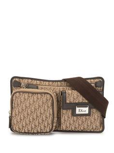 Christian Dior поясная сумка Street Chic pre-owned с узором Trotter