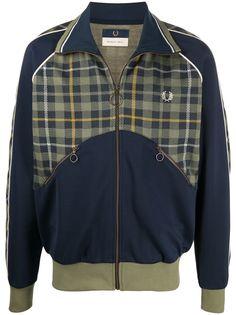 Fred Perry легкая куртка с контрастной вставкой