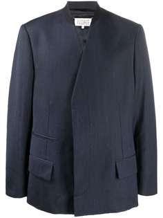 Maison Margiela пиджак с V-образным вырезом