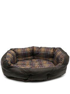 Barbour клетчатый лежак для собак