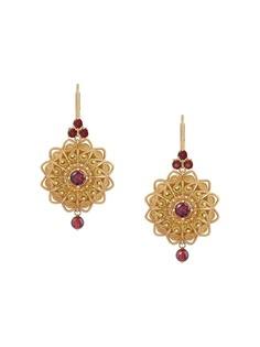 Dolce & Gabbana серьги Pizzo из желтого золота