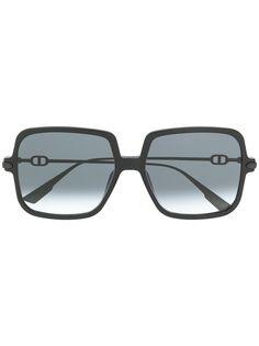 Dior Eyewear солнцезащитные очки в массивной квадратной оправе