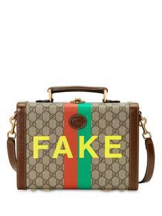 Gucci сумка на плечо с принтом Fake/Not