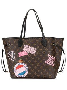 Louis Vuitton сумка-тоут Neverfull MM 2018-го года