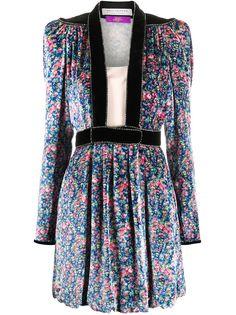 Philosophy Di Lorenzo Serafini приталенное платье мини с цветочным узором