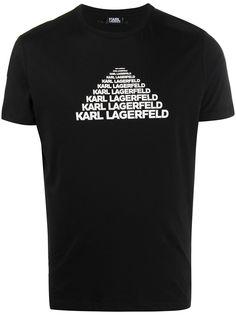Karl Lagerfeld футболка Karl с короткими рукавами