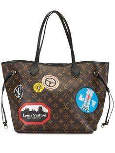 Louis Vuitton сумка-тоут Neverfull MM 2016-го года