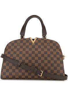 Louis Vuitton сумка-тоут Damier Kensington Bowling 2017-го года