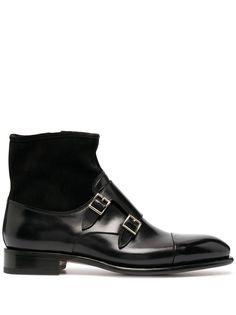 Santoni ботинки с ремешками