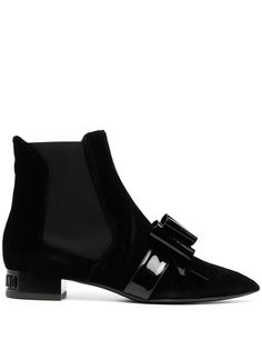 Moschino ботинки с бантом