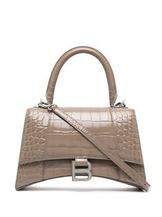 Balenciaga маленькая сумка-тоут Hourglass с верхней ручкой