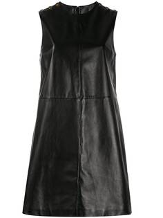 Gucci платье-трапеция с круглым вырезом