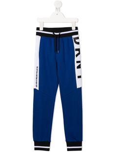 Dkny Kids спортивные брюки с логотипом
