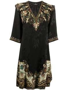Etro жаккардовое платье