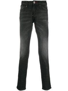 Philipp Plein узкие джинсы средней посадки