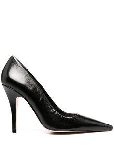 Schutz лакированные туфли-лодочки с заостренным носком