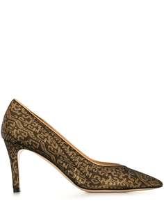 Etro жаккардовые туфли-лодочки