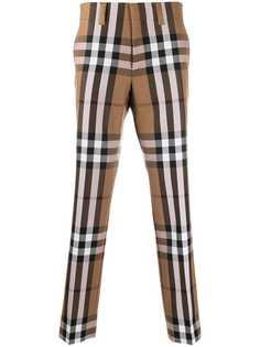 Burberry брюки в клетку House Check