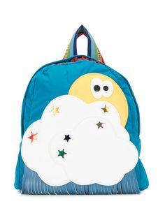 Stella McCartney Kids рюкзак с нашивками