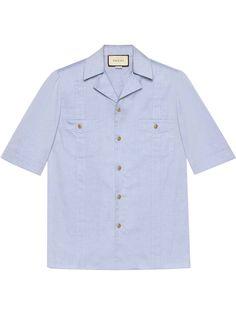 Gucci рубашка с короткими рукавами