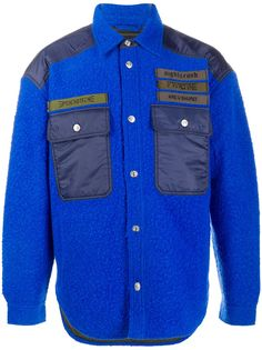 Diesel куртка с контрастным карманами
