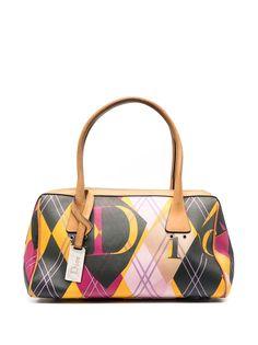 Christian Dior сумка-тоут Harlequin MM 2004-го года