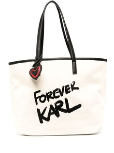 Karl Lagerfeld сумка-шопер с логотипом