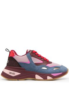 LIU JO массивные кроссовки в стиле колор-блок