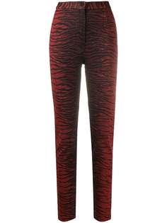 Kenzo брюки с тигровым узором