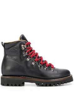 Churchs ботинки в стиле милитари с контрастными шнурками Church's