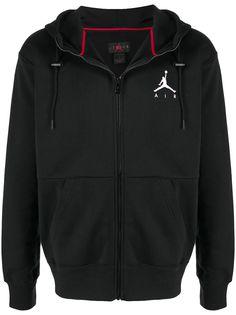 Nike худи на молнии с логотипом