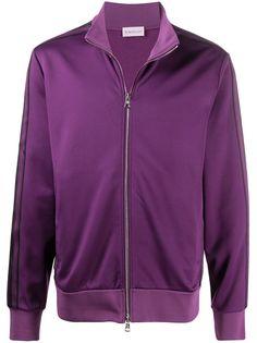Moncler спортивная куртка с контрастными полосками