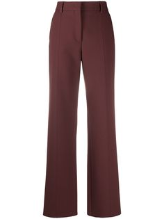 MSGM строгие брюки с завышенной талией