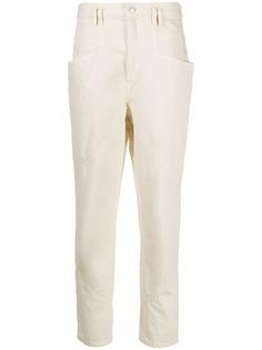 Isabel Marant зауженные джинсы с завышенной талией