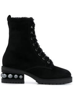Nicholas Kirkwood ботинки Casati в стиле милитари