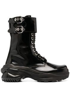 Maison Margiela ботинки на шнуровке