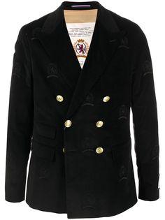 Hilfiger Collection бархатный пиджак с вышивкой