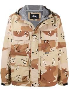 Stussy куртка с камуфляжным принтом