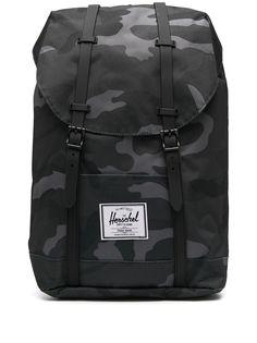 Herschel Supply Co. рюкзак с камуфляжным принтом и пряжками