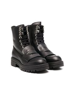 Nº21 Kids байкерские ботинки