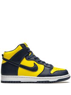 Nike кроссовки Dunk High SP Michigan