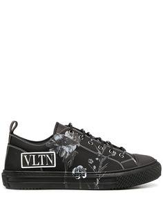 Valentino Garavani кеды с логотипом VLTN