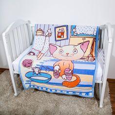 Одеяло Baby Nice Кот на кухне 100 х 140 см